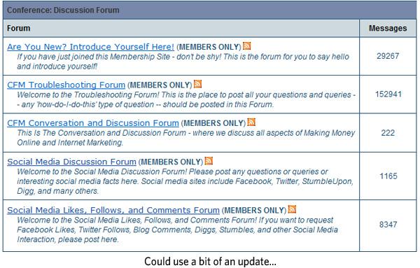 Chris Farrell Membership Forum