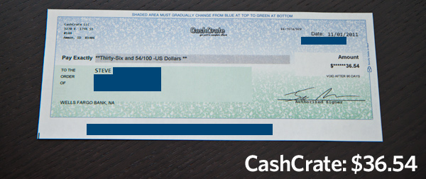 CashCrate Check