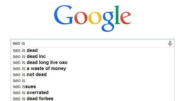 Google SEO is dead