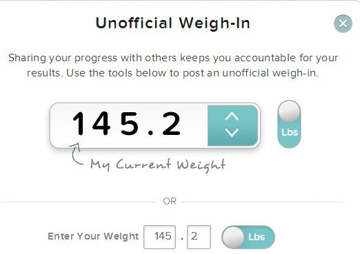 dietbet weight scale