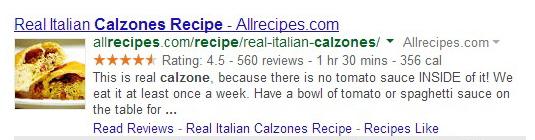 calzone recipe