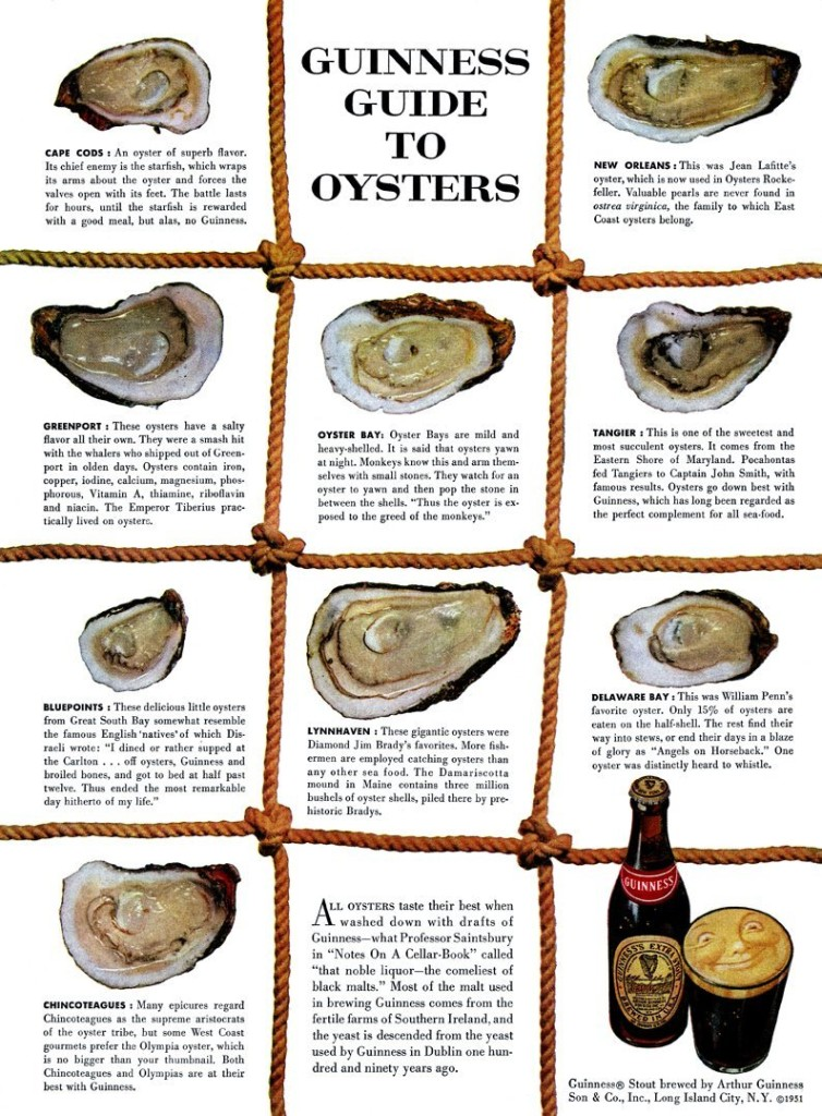 Native Advertsing - Guinness Guide to Oysters