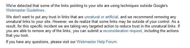 unnatural links