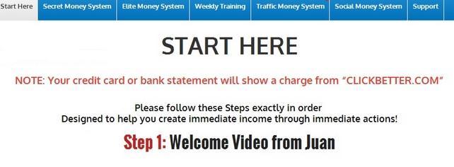Secret Money System Members Area