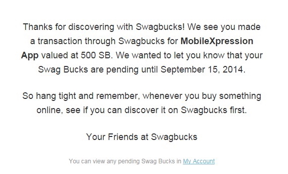 swagbucks points