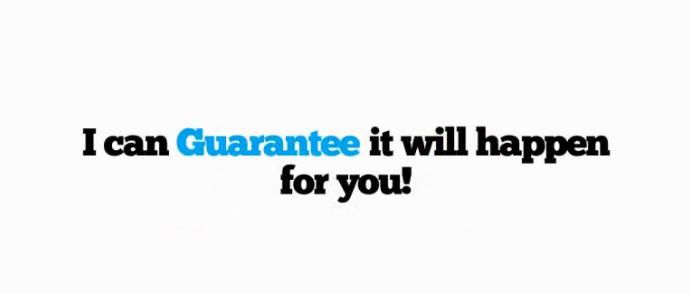 Millionire Money Machine guarantee