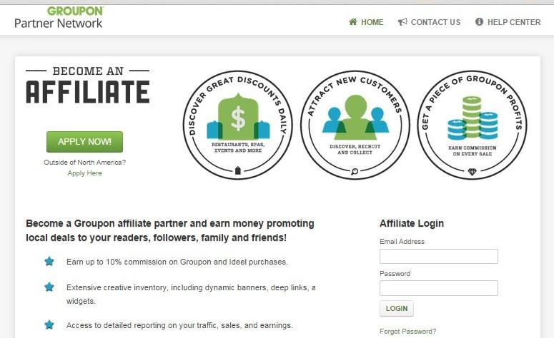 groupon partner network