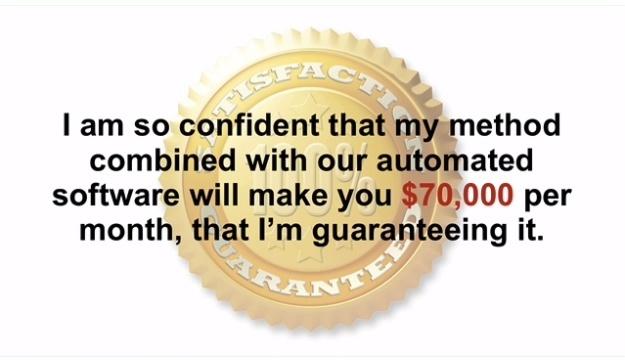 70k Method guarantee