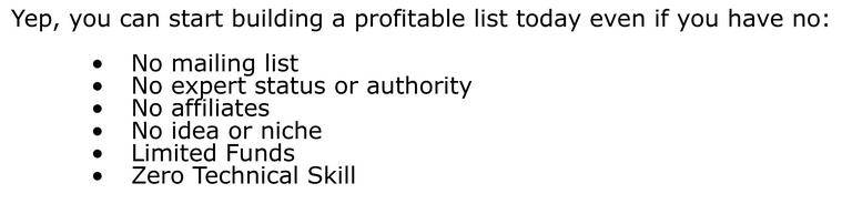 List Building Assault 2015 no skills