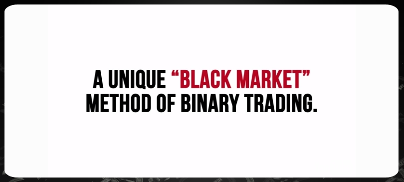 Binary Godfather black market