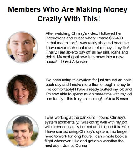 Chrissys Invite testimonials