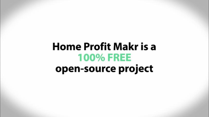 Home Profit Makr opensource