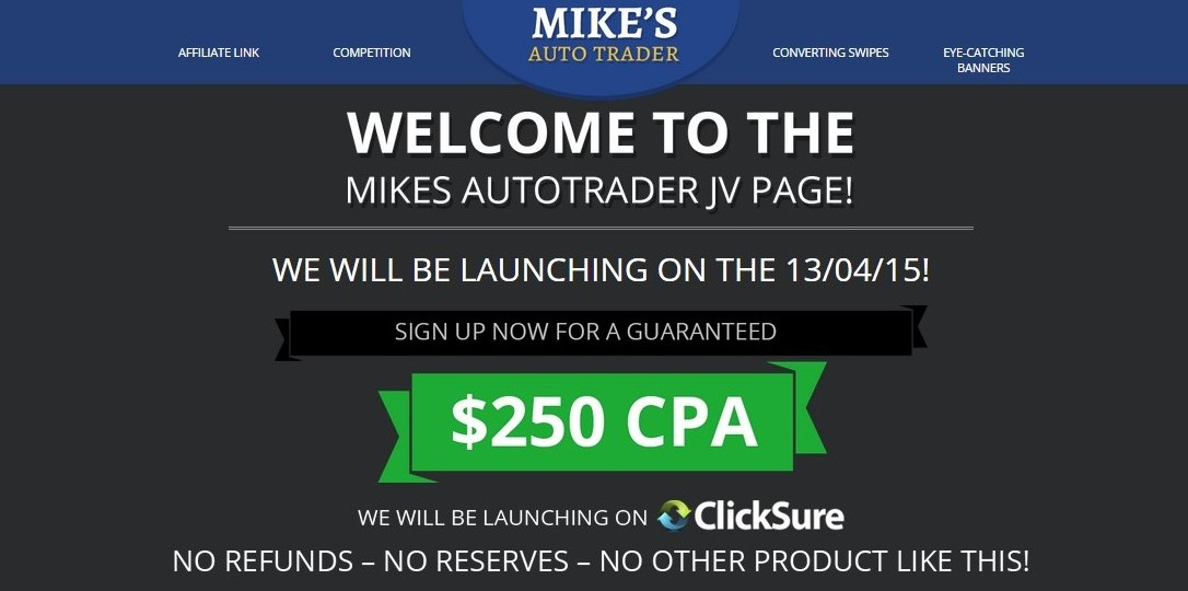 Mike's auto trader binary
