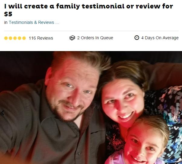 3K Daily Fiverr family