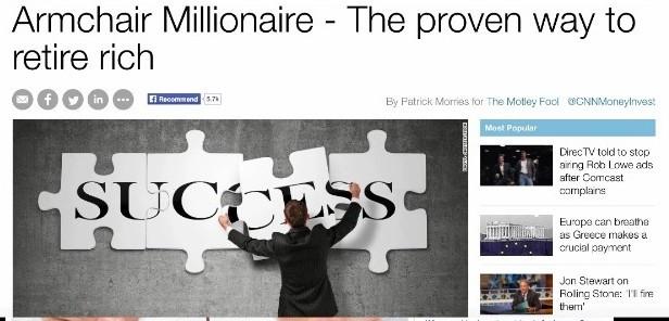 Armchair Millionaire It S More Like An Armchair Scam
