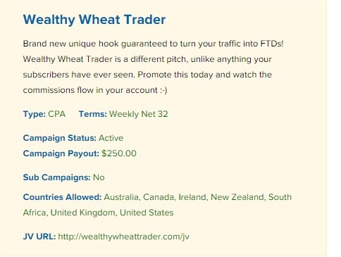 wealthy wheat