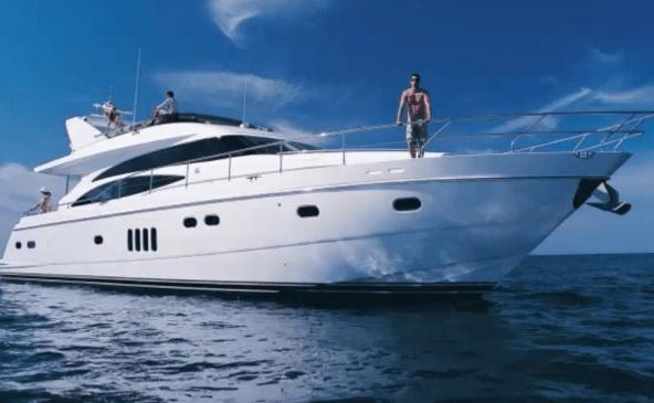 society of millionaires 70 foot yacht