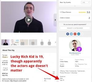 Lucky Rich Kid