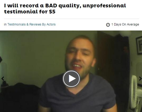 3 Week Millioniare bad testimonial