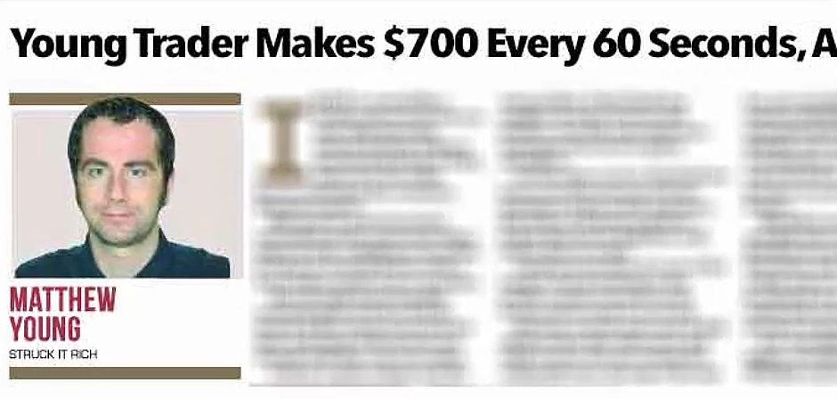 700 per minute fake article