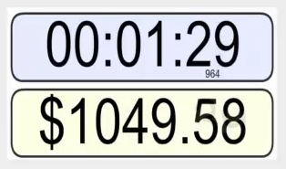 700 per minute money ticker
