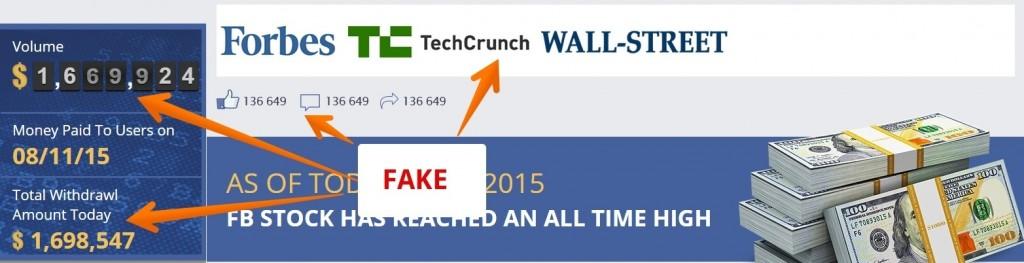 FB App Bot fakes