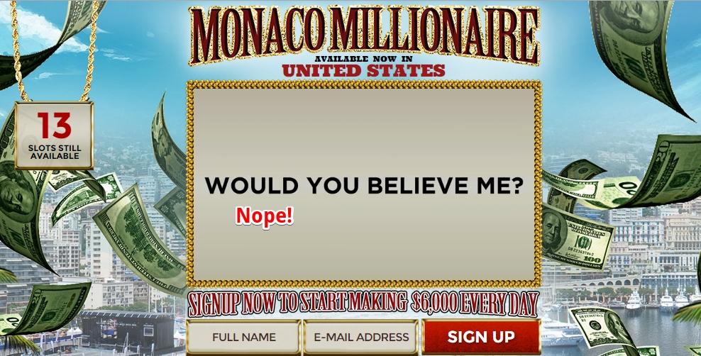 Monaco Millionaire