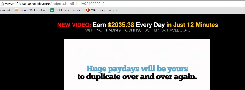 48 Hour Cash Codes