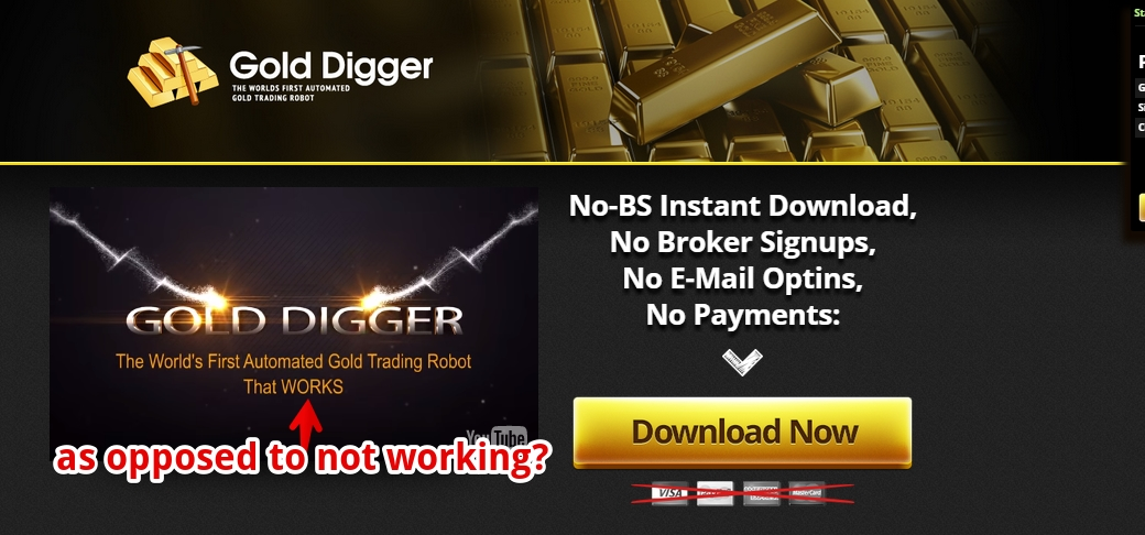 Gold digger binary options review