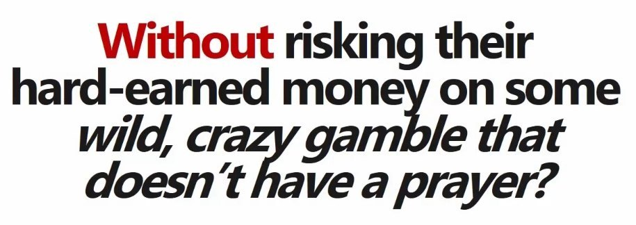 Proven Profits gamble