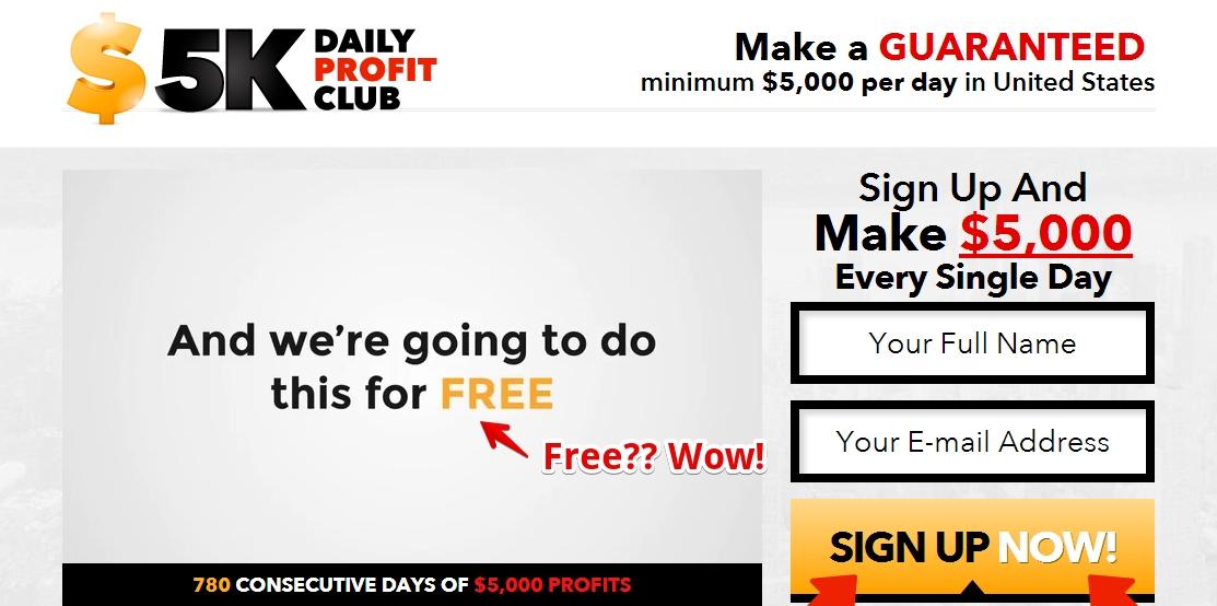 $5K Daily Profit Club