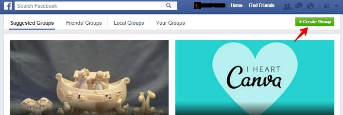 facebook groups creation