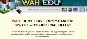 wah edu sales