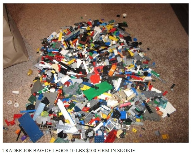 Unsorted LEGO