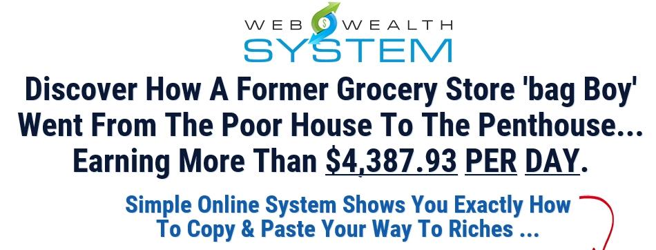 Web Wealth System