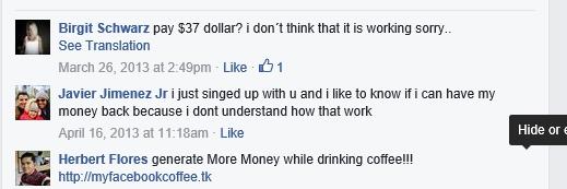 Coffee Shop Millionaire Club