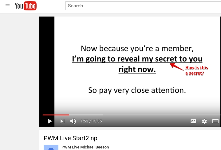 PWM Youtube
