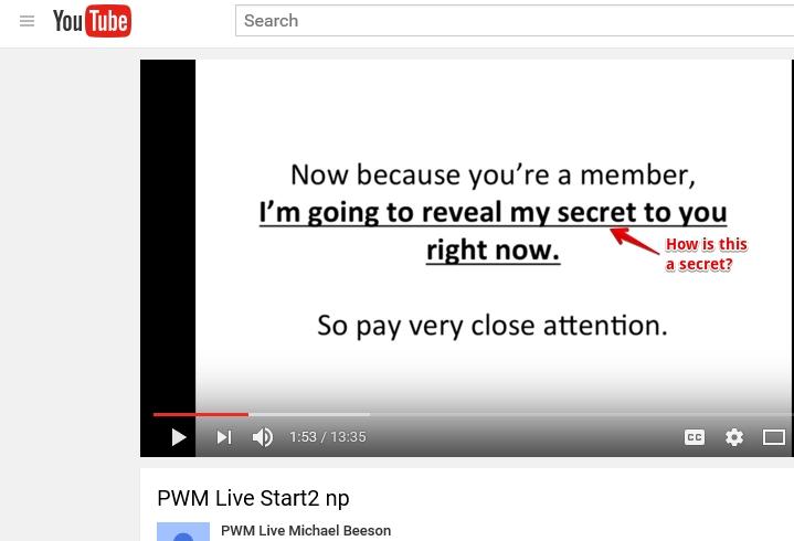 PWM Youtube