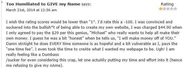 Profit With Michael comment