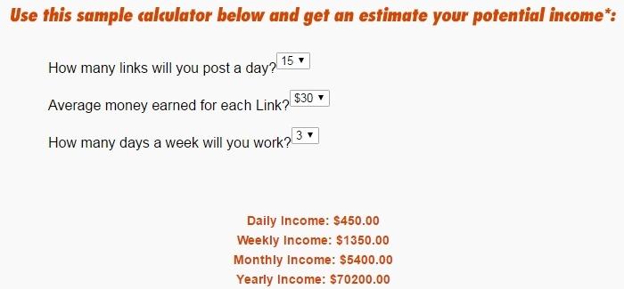 Quick Profit Solutions calculator