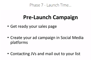 Phase 7 Launch Time