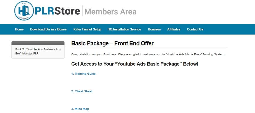 youtube ads biz members