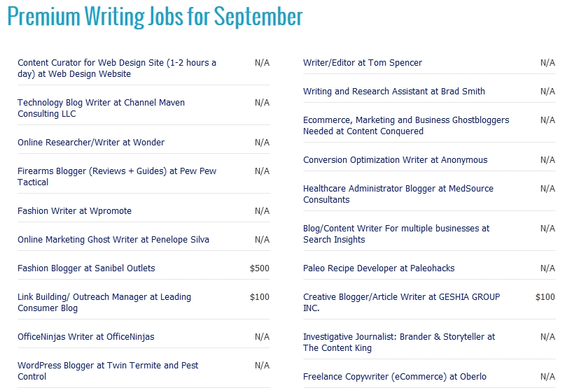 will writing jobs online help you the highest paying writing  writing jobs 6