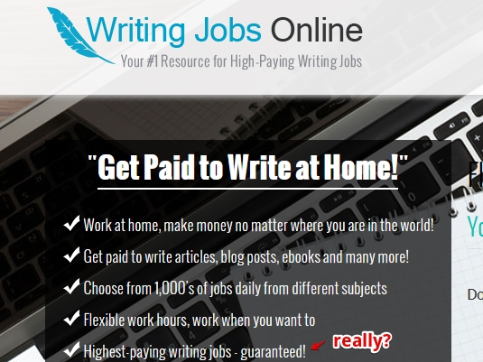 get paid for writing online Why write with online writing jobs the benefits of writing for our content creation company as a freelance writer with online writing jobs, you can get paid to write online and on your own.