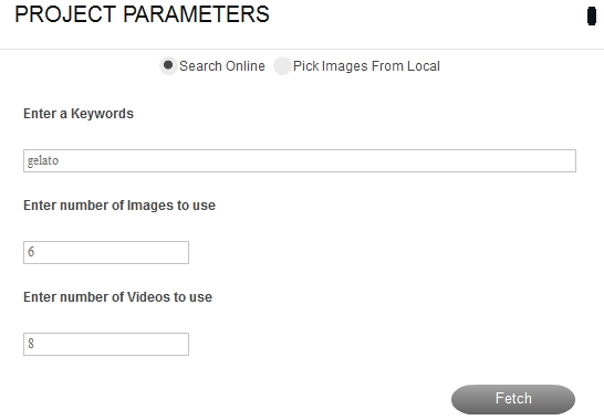 project-parameters