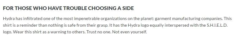 Funny descriptions over at ThinkGeek