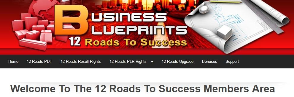 12 Roads to Success Members Area