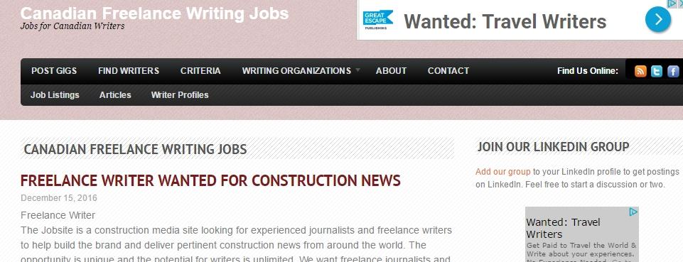 online freelance work sites
