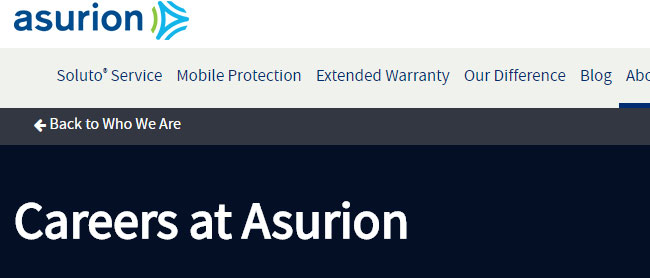 Asurion Work from Home Jobs