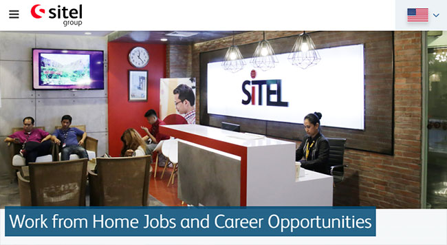 Sitel from home